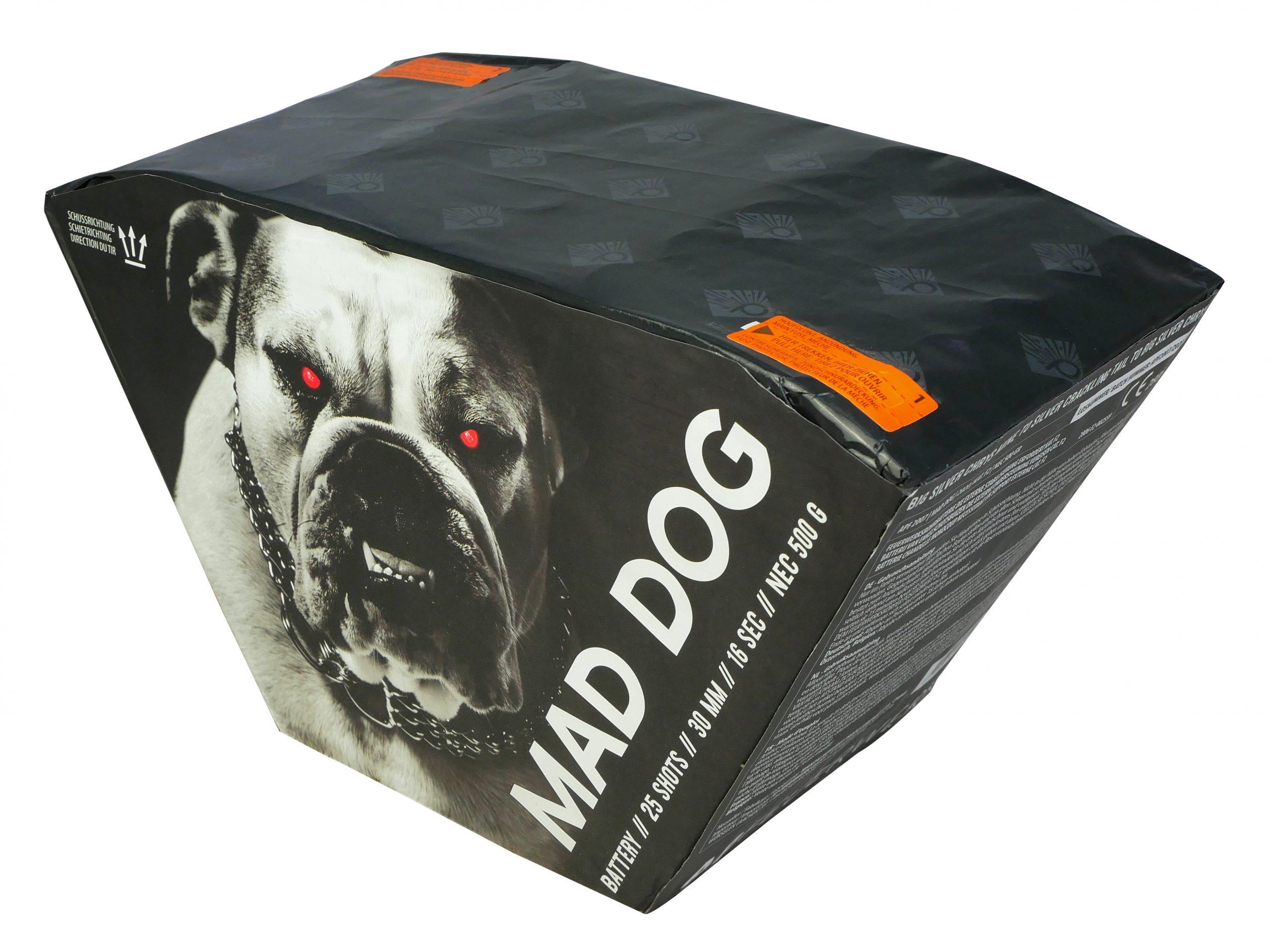 Pyrocentury Mad Dog 25 Schots Batterij