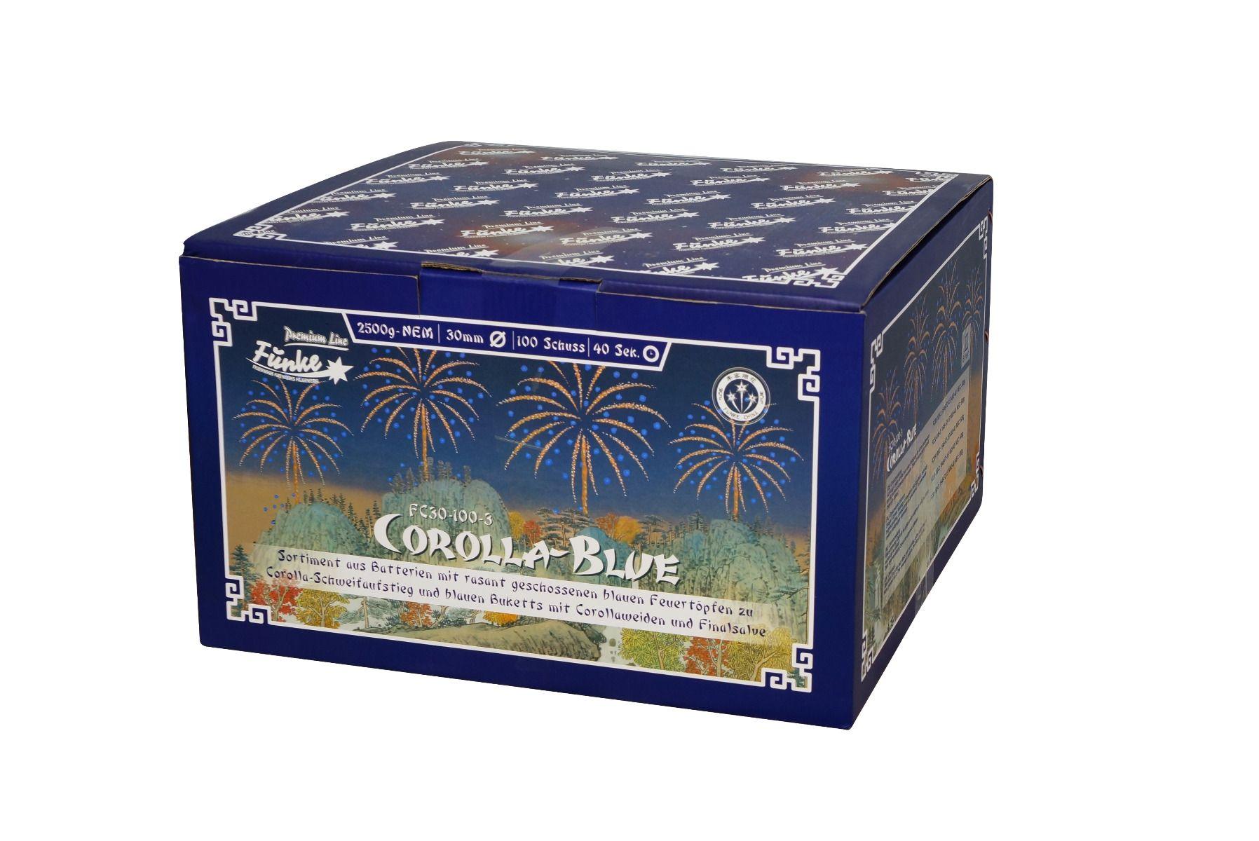 Funke Corolla Blue 100 Schots