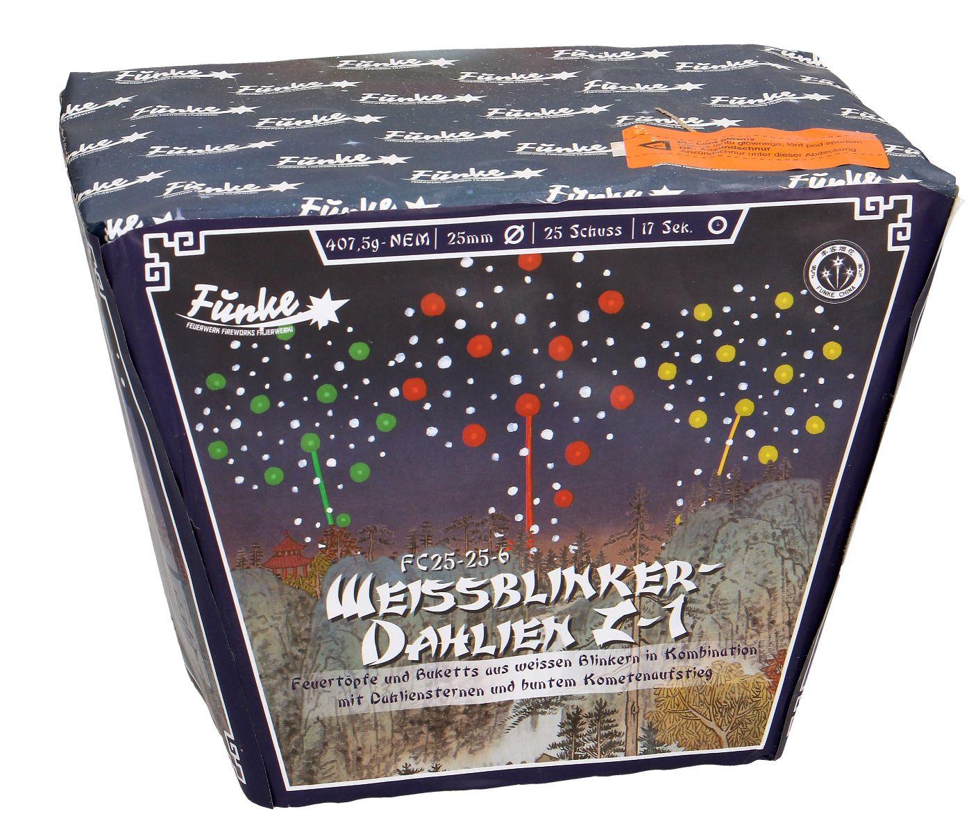 Funke Weissblinker Dahlien Z-1 25 Schots