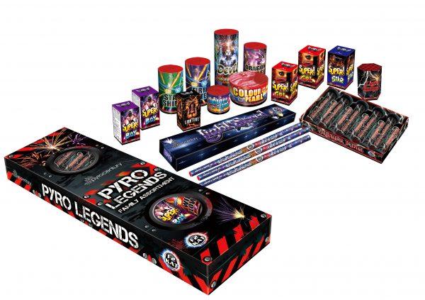 Pyro Legends Familie Pakket