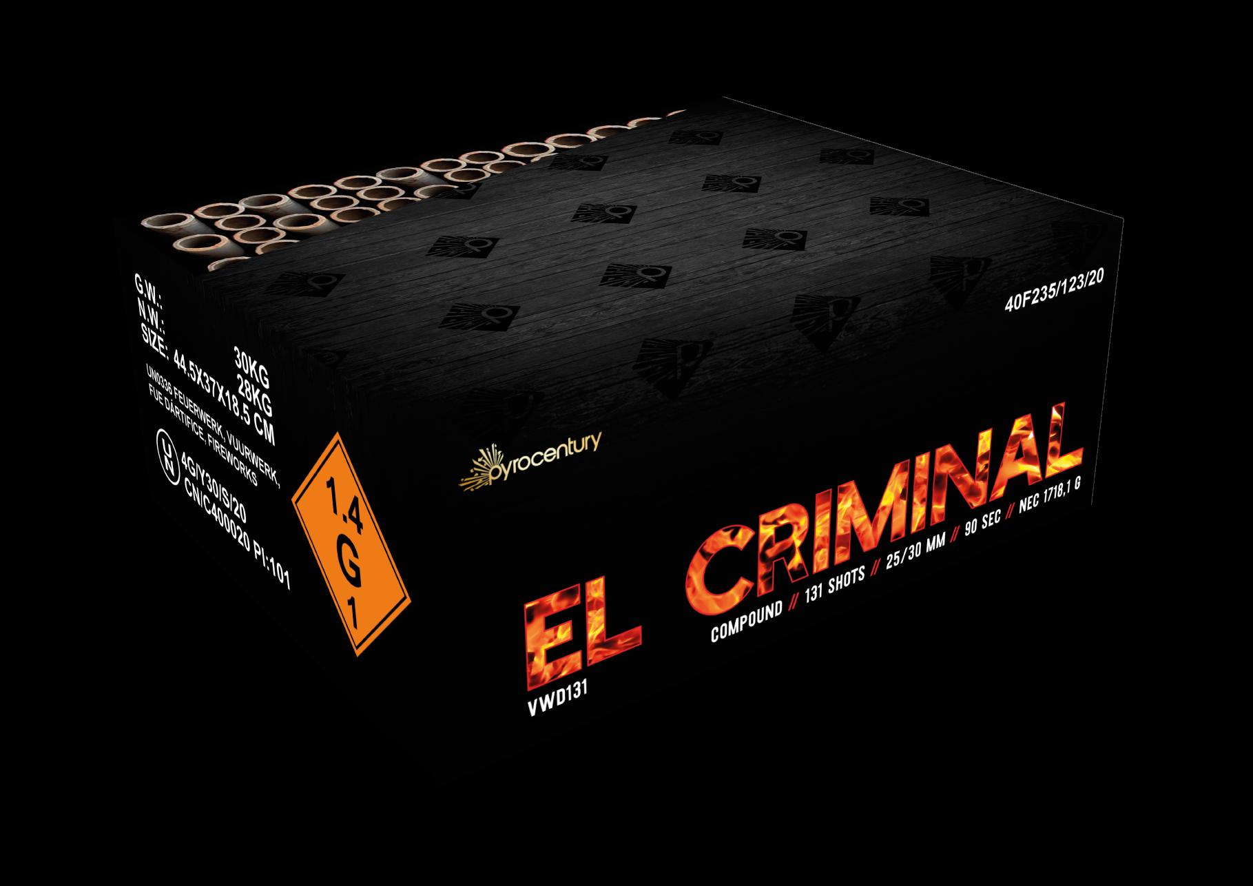 VWD El Criminal 131 Schots Compound