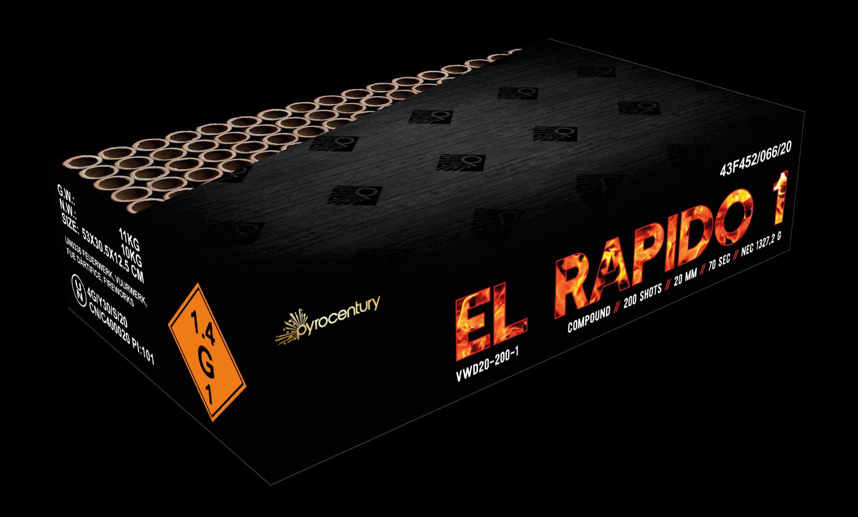 VWD El Rapido 1 – 200 Schots Compound