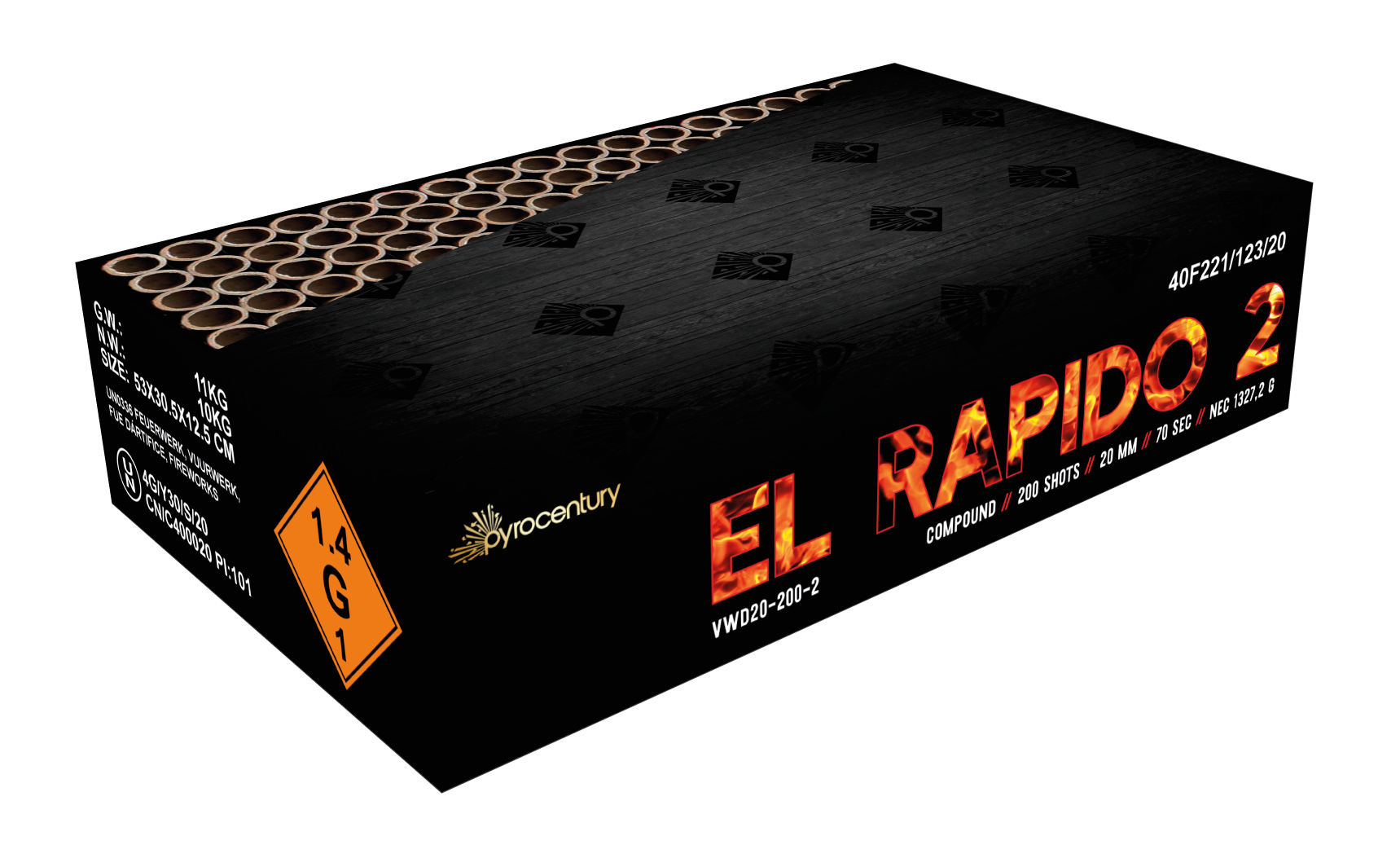VWD El Rapido 2 – 200 Schots Compound