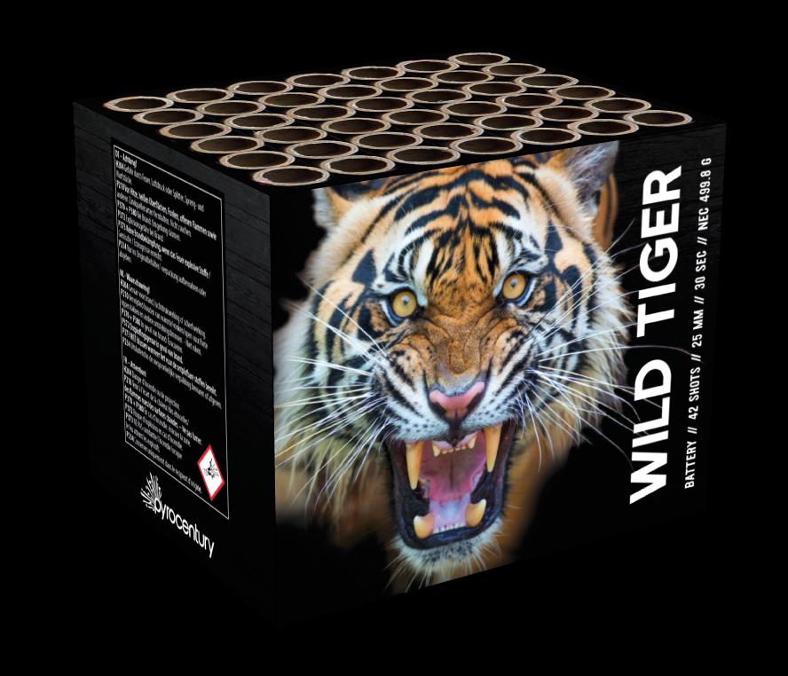 Pyrocentury Wild Tiger 42 Schots