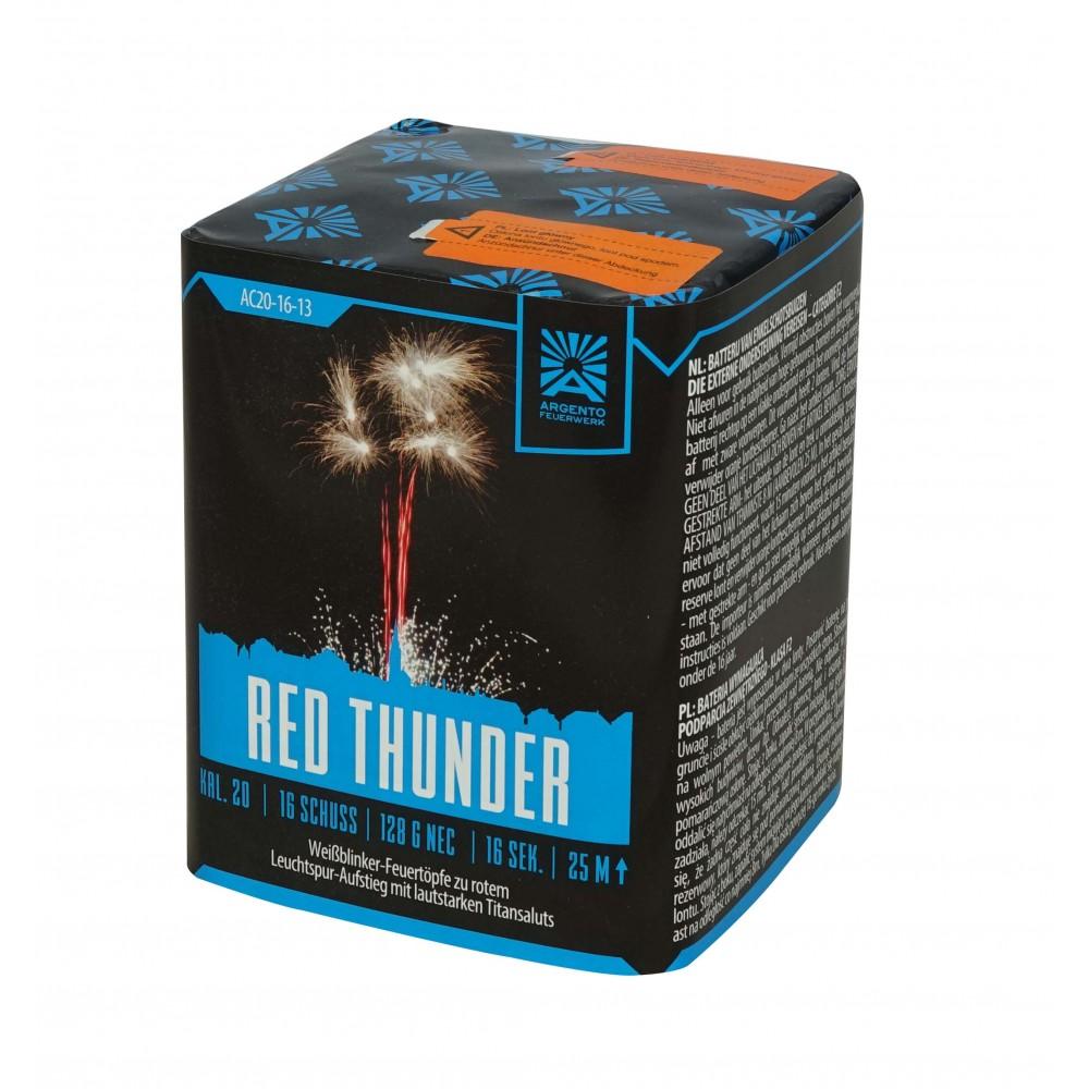 Argento Red Thunder 16 Schots Batterij