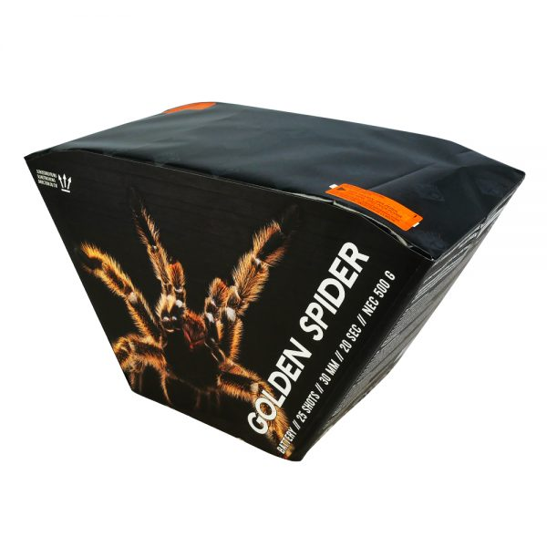 Pyrocentury Golden Spider 25 Schots Batterij