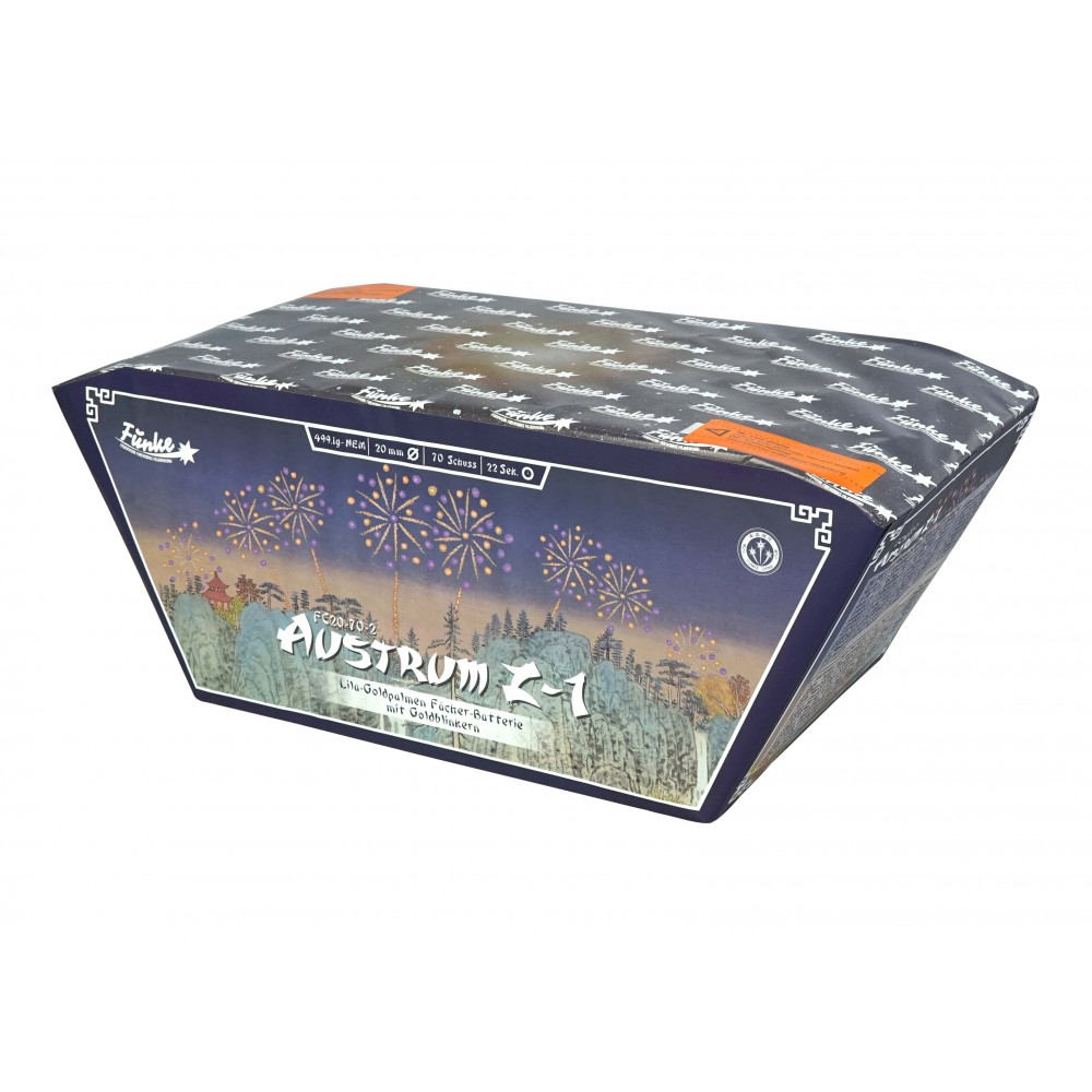 Funke Austrum Z-1 – 70 Schots Batterij