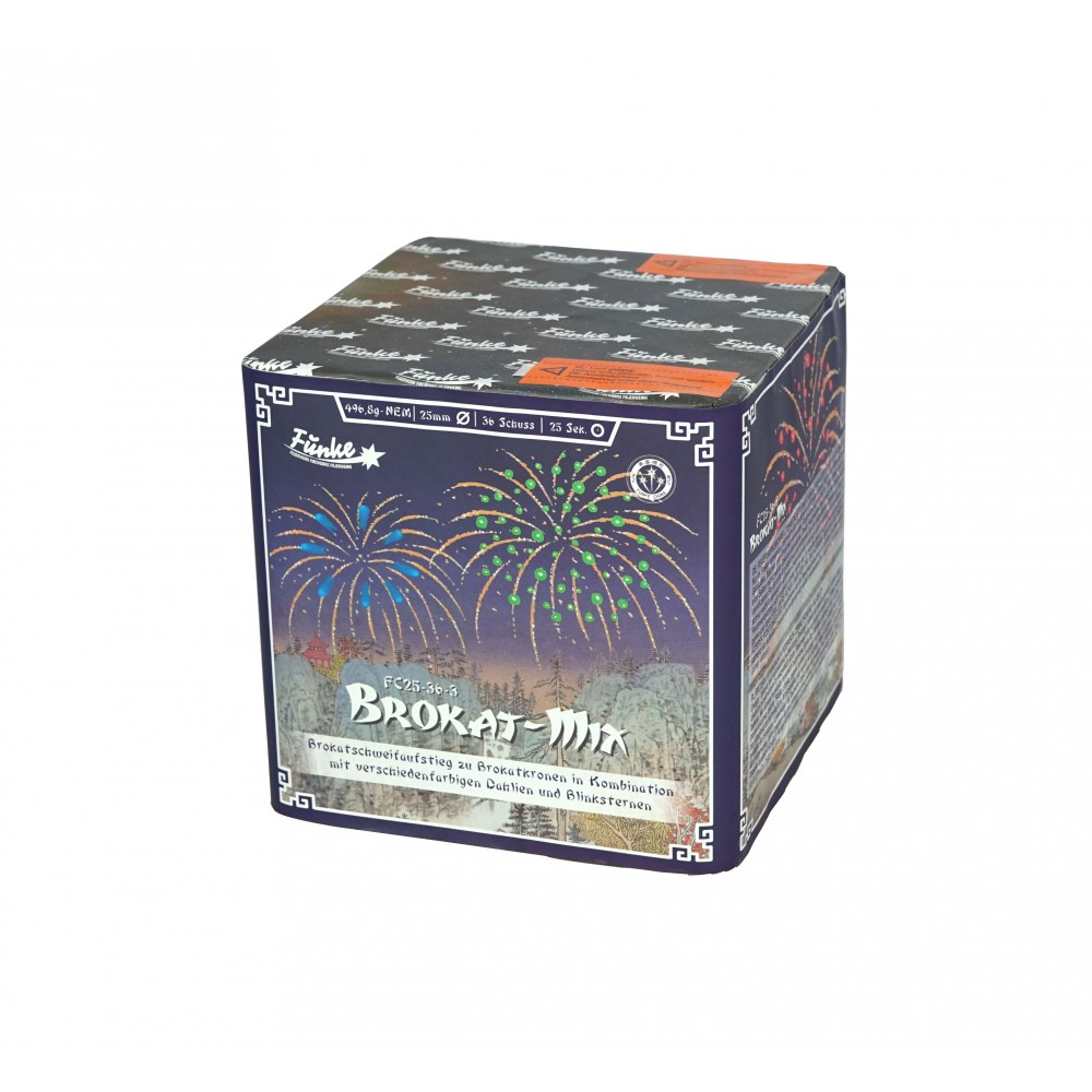 Funke Brokat Mix 36 Schots Batterij